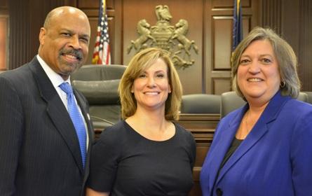 Commissioners Farrell Kichline & Cozzone