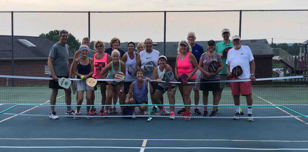 Join the fun of Pickleball on Tuesday and Thursday evenings all summer long!